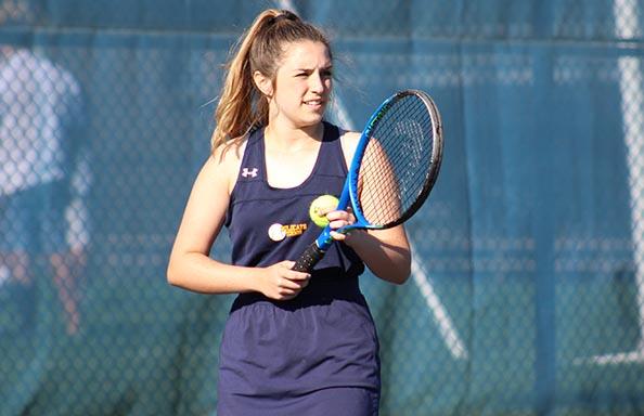 Athletics Girl Playing Tennis