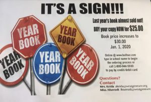 Sign image for ordering WGMS Yearbooks