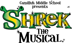 Shrek the Musical Logo for CMS