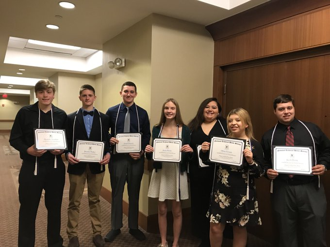 Picture of Fall 2019 National Tech Honor Society Inductees