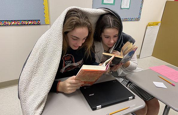 CMS Girls Reading
