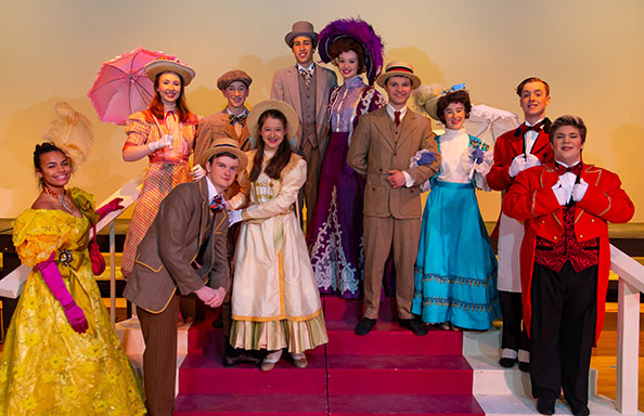 Group Shot of Lead Cast of Hello, Dolly!