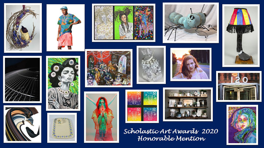 Scholastic Art Awards 2020 Honorable Mention Collage