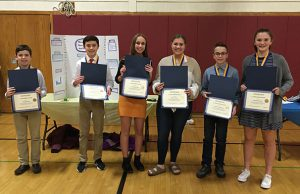 WGMS Science Fair 8th Grade Students
