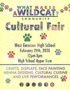 WG Culture Fair Poster