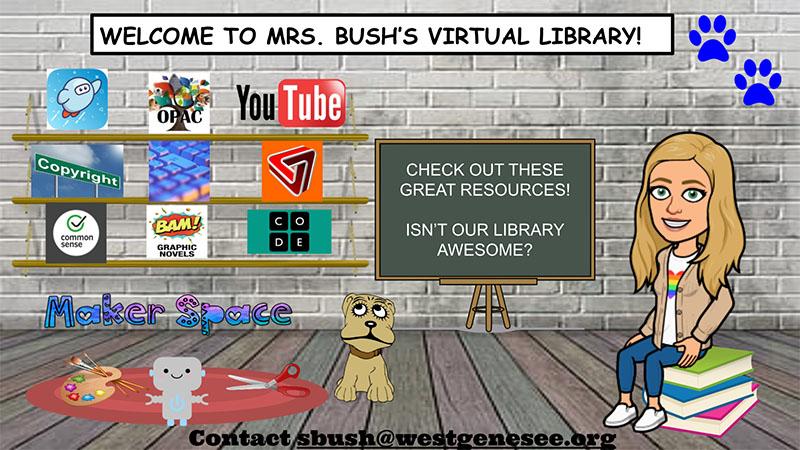 CMS Library Google Slide Homepage
