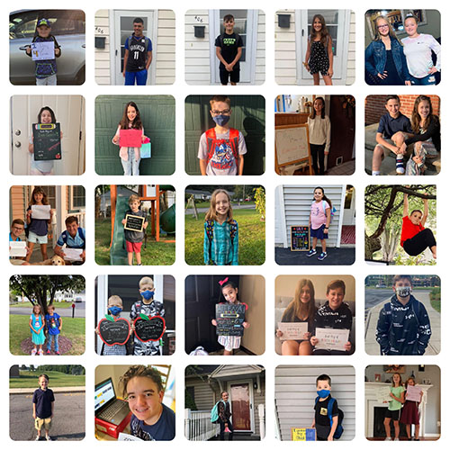 First Day 2020 Collage