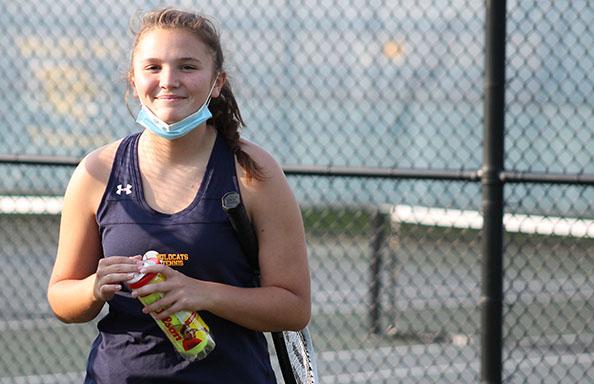 Varsity Tennis Player