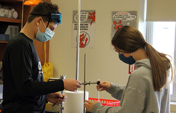 WGHS Students Science Experiment