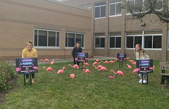 WGHS Juniors Flock Principal