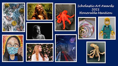 Scholastic Art Awards 2021 Honorable Mention Art