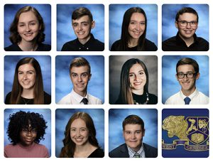 WGHS Top 11 for Class of 2021
