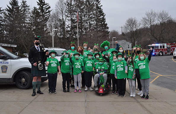 OR GoGreen for MDA Colton and Crew