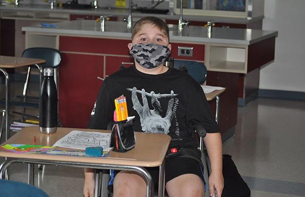 WGMS Boy in Science Room