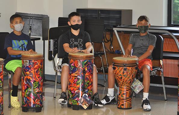 WGMS Boys Drumming