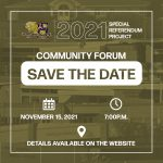 Referendum Community Forum Save the Date